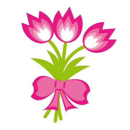 Illustration pour Bunch of flowers. Vector Illustration. - image libre de droit