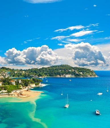 Photo for view of luxury resort and bay of Cote d - Royalty Free Image