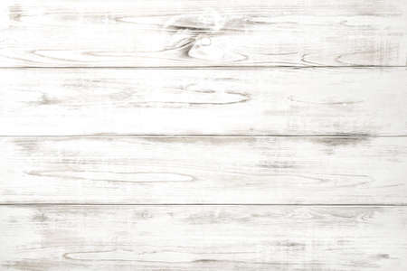 Photo for Wooden background with white colored planks. Natural wood pattern - Royalty Free Image