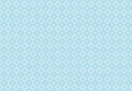 Minimalistic light blue poker background with seamless texture composed from card symbols