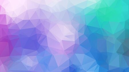 Illustration for Abstract background. Colorful abstract background for design. Vector template pattern. Geometric triangular mosaic colors of the sea and sand sky. vector illustration frame - Royalty Free Image