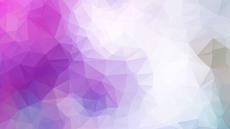 Illustration pour Abstract 2D geometric colorful background - image libre de droit