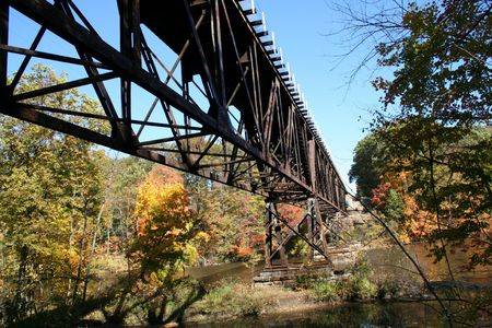 All Aboard for a Fall Train ride.  This photo was taken in Grand Ledge Michigan.