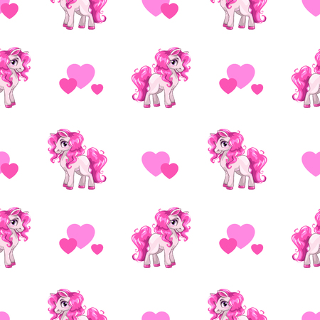 Illustration pour Cute seamless pattern. - image libre de droit