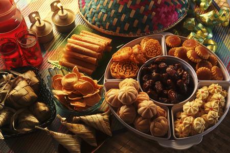 Foto de mood shot of the pelita with cookies - Imagen libre de derechos