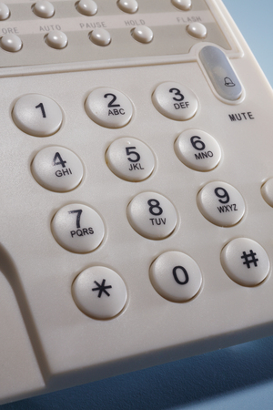 stock image of the phone pad