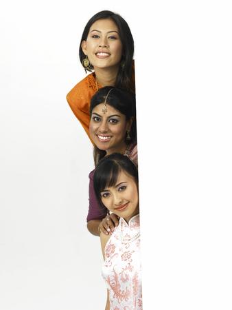Photo pour malaysia young women - image libre de droit