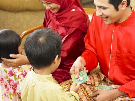 Photo for malay family during hari raya - Royalty Free Image