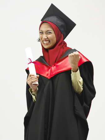 Photo for happy young graduate - Royalty Free Image