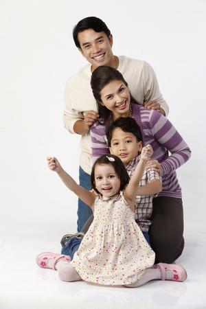 Photo pour stock image of happy family - image libre de droit