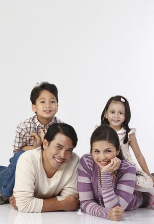 Foto für stock image of happy family - Lizenzfreies Bild