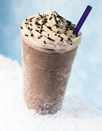 Ice frappuccino