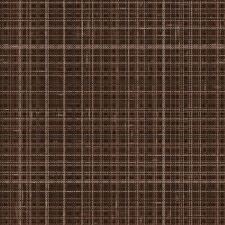 Illustration pour Dark Brown French Linen Texture Background. Variegated Flax Fibre Seamless Pattern. Organic Yarn Close Up Weave Faux Fabric for Wallpaper, Sack Cloth Packaging, Canvas. Vector EPS10 . - image libre de droit