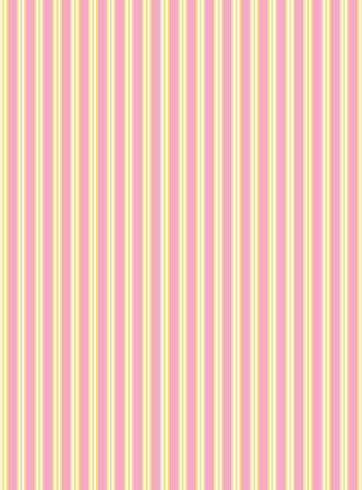 swatch striped fabric wallpaper in pink, gold and ecru that matches Valentine borders.