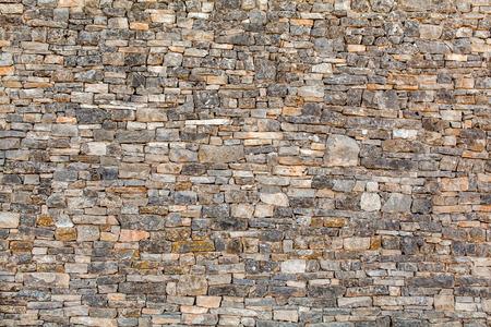 Photo pour Natural stone wall texture for background - image libre de droit