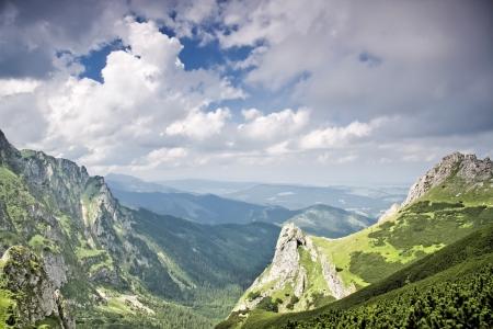 Polish landscapes  Mountain - Tatras  National park - ecological reserve