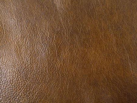 Photo pour Genuine dark brown cattle leather texture background. Macro photo - image libre de droit