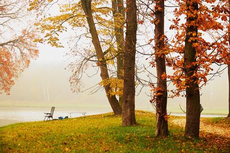 Autumn Lake I