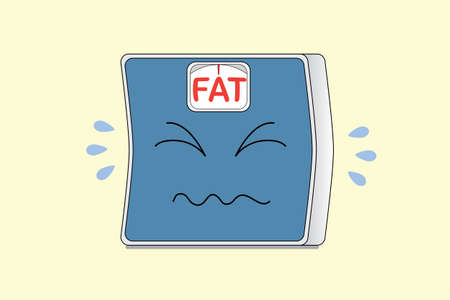Weight Scale crying with FAT word on scale display