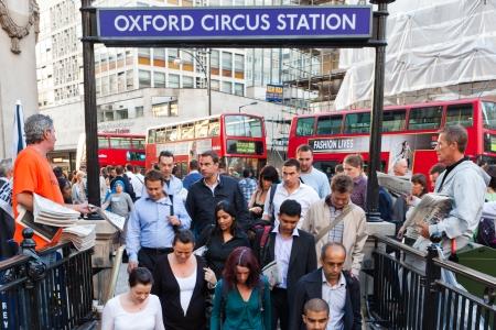 oxford underground station london england
