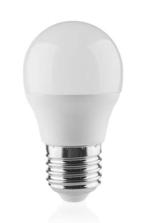 Photo for LED light bulb close up isolated on white background - Royalty Free Image