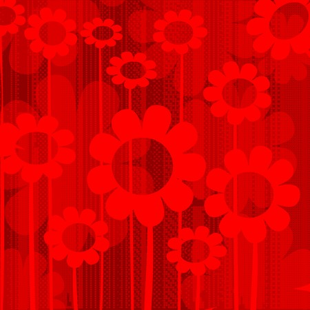 Abstract background in reds