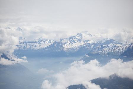 Photo pour Pilatus is a famous travel mountain, Switzerland - image libre de droit