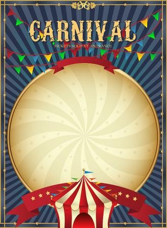 Illustration pour Golden Mardi Gras design element. Carnival background. Two carnival crowns. - image libre de droit