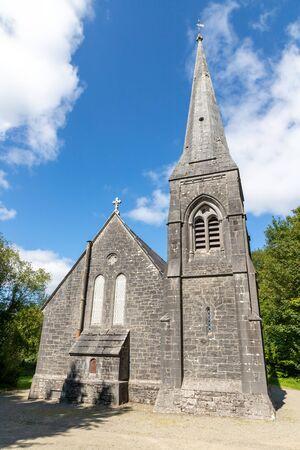 Tower of the Cong Church, Cong, Mayo, Ireland