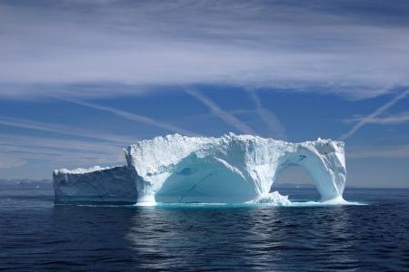 Iceberg off the coast of Greenland, Atlantic Ocean