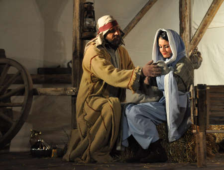 Photo for Live Version of the Nativity Scene - Royalty Free Image