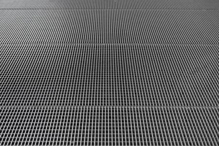 Grey iron lattice floor background for your design.