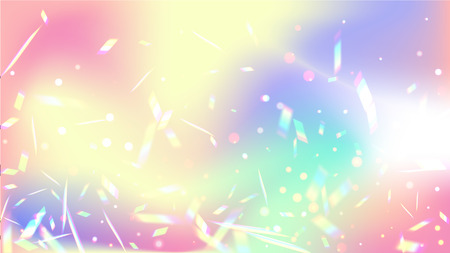 Iridescent Background  Holographic Background with Light Glitch
