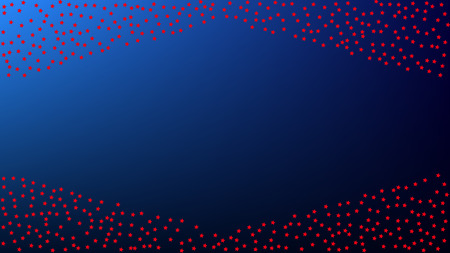 colours of american flag usa independence day red blue and white stars on blue gradient background abstract background with many random falling stars confetti on blue background royalty free vector graphics colours of american flag usa