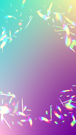 Iridescent Background  Holographic Light Glitch Effect  Vector