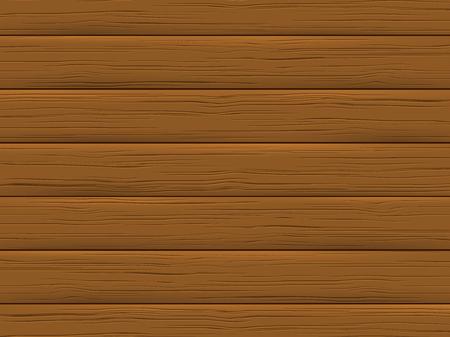 Illustration pour Wood texture, brown plank. Wooden background in cartoon style. Vector illustration. - image libre de droit