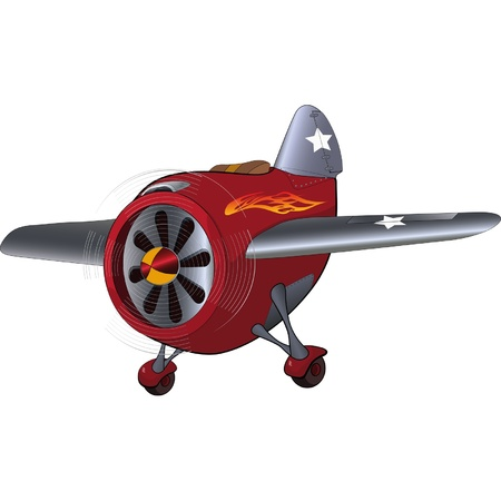 The toy plane