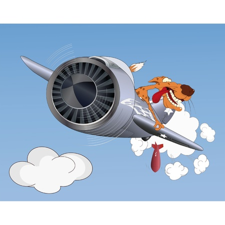 Cheetah the pilot