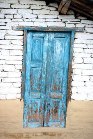 Inclined door