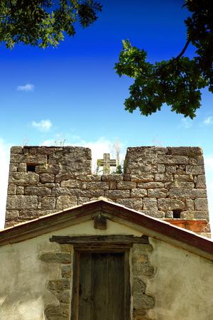 Chapel in cemetery-France