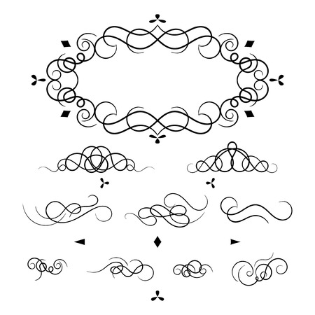 decorative elements for a frame and design