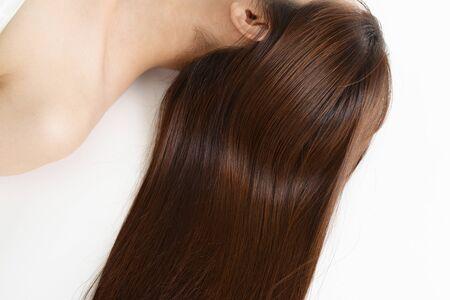 Foto de Woman with beautiful long hair - Imagen libre de derechos