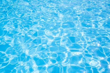Foto de Blue ripped water in swimming pool Summer vacation Top view Copy space - Imagen libre de derechos