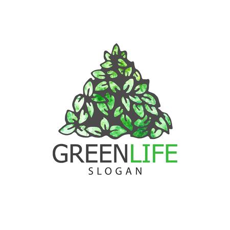 Vector illustration og tree logo or icon  Design template