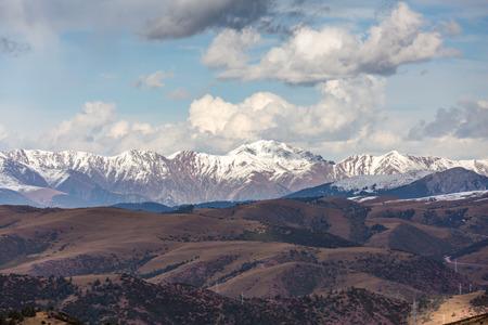 Landscape scenery of Tibet plateau of China
