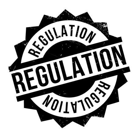 Regulation rubber stamp. Grunge design with dust scratches. Effects can be easily removed for a clean, crisp look. Color is easily changed.