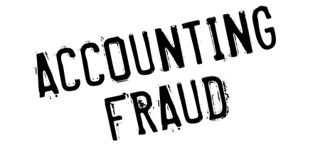 Accounting Fraud rubber stamp. Grunge design with dust scratches. Effects can be easily removed for a clean, crisp look. Color is easily changed.