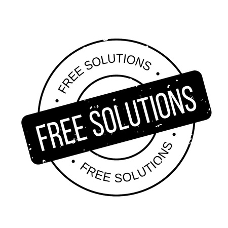 Free Solutions rubber stamp