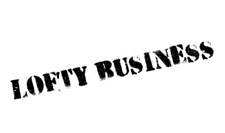 Lofty Business rubber stamp