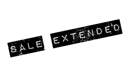 Sale Extended rubber stamp